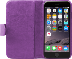 iZound Wallet Case iPhone 6/6S Plus Purple