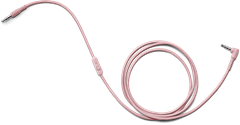 Urbanears Audio/Mic Cable Powder Pink