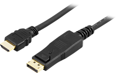 Displayport - HDMI 2m