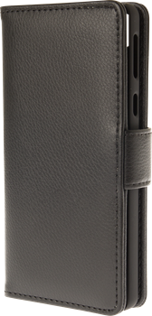 iZound Leather Wallet Case Sony Xperia E5 Black