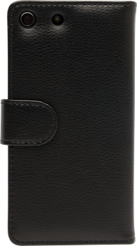 iZound Leather Wallet Case Sony Xperia M5 Black