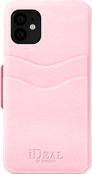 iDeal of Sweden Fashion Wallet iPhone XR/11 Pink