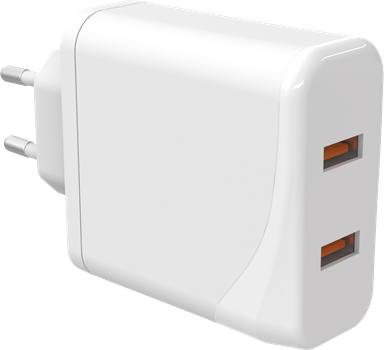 iZound Dual USB Quick Charger QC 3.0 USB-C