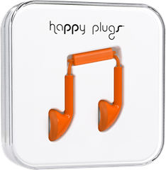 Happy Plugs Earbud Orange