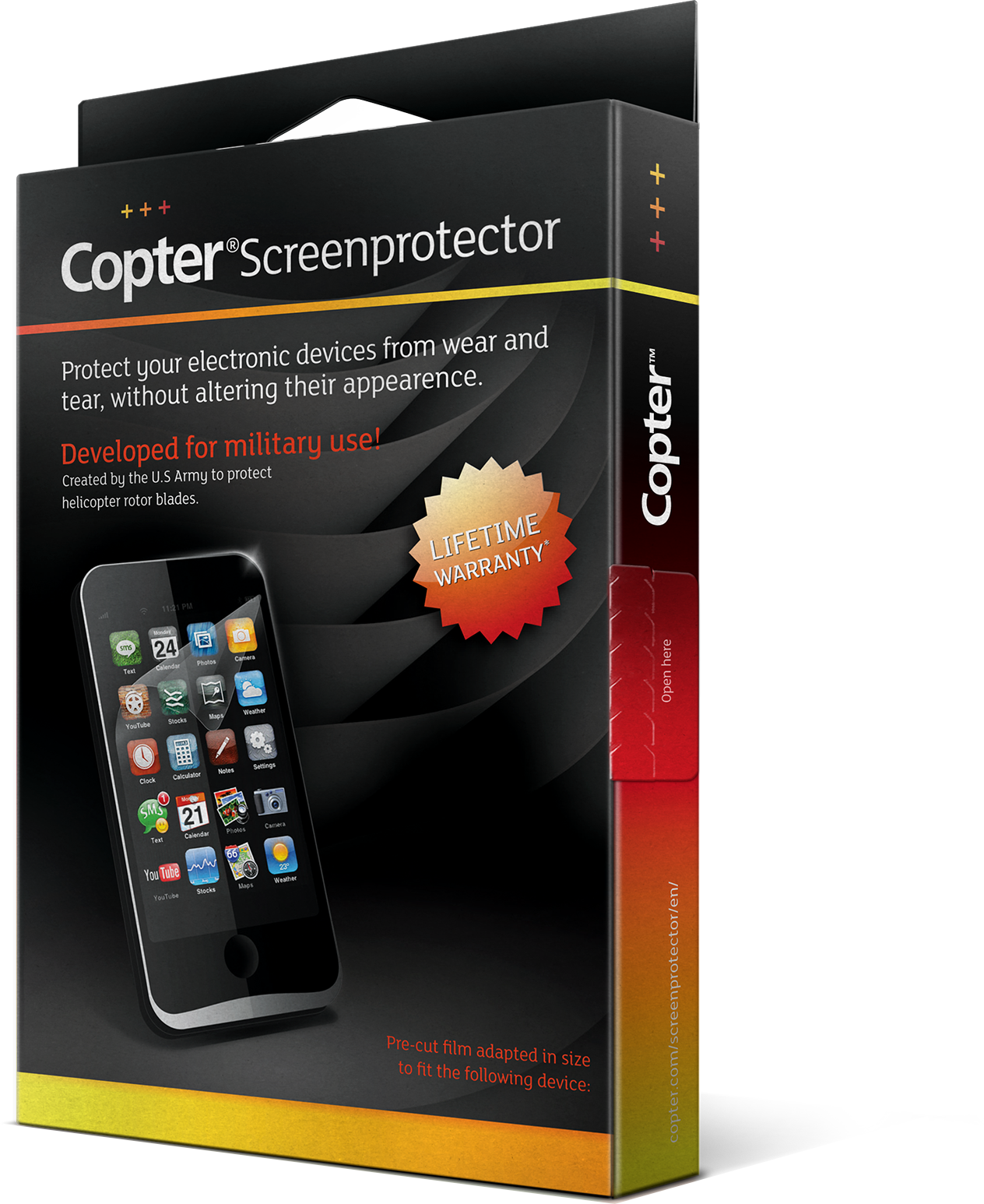 Läs mer om Copter Screenprotector LG G3