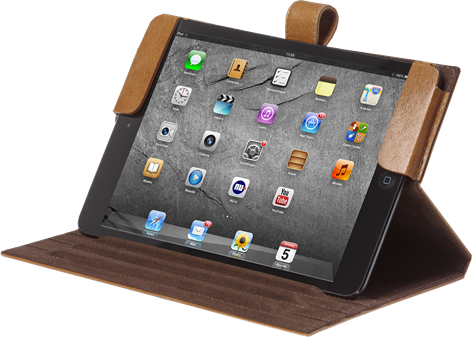 D.Bramante Classic Folio iPad mini Golden Tan