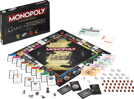 MONOPOL Game of Thrones