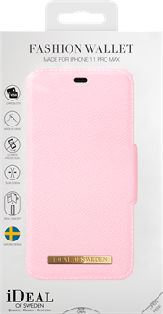 iDeal of Sweden Fashion Wallet iPhone XS Max/11 Pro Max Pink