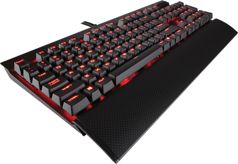 Corsair Gaming K70 RapidFire Red LED MX Speed