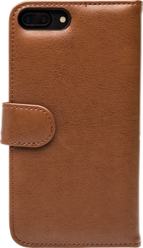 iZound Leather Wallet Case iPhone 7/8 Plus Brown