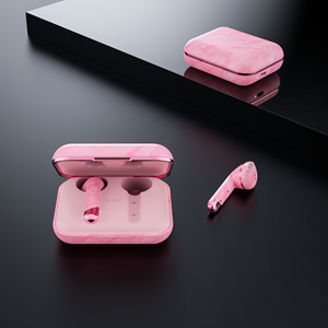 Happy Plugs Air 1 - Pink Marble