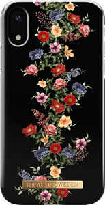 iDeal of Sweden Fashion Case iPhone XR Dark Floral