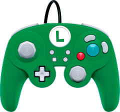 Switch Smash Controller - Luigi