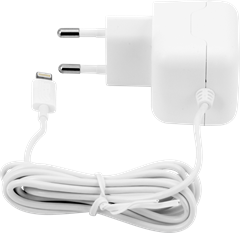 iZound Lightning Wall Charger 2,4 A White