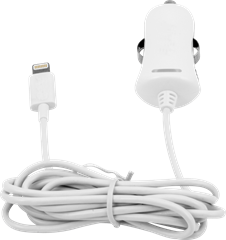 iZound Lightning Car Charger 2,4 A White