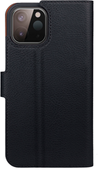 XQISIT Slim Wallet Selection Anti Bac for iPhone 12 Mini black