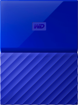 WD My Passport 2TB Blue