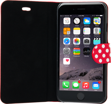 iZound Dot Wallet iPhone 6 Plus Red