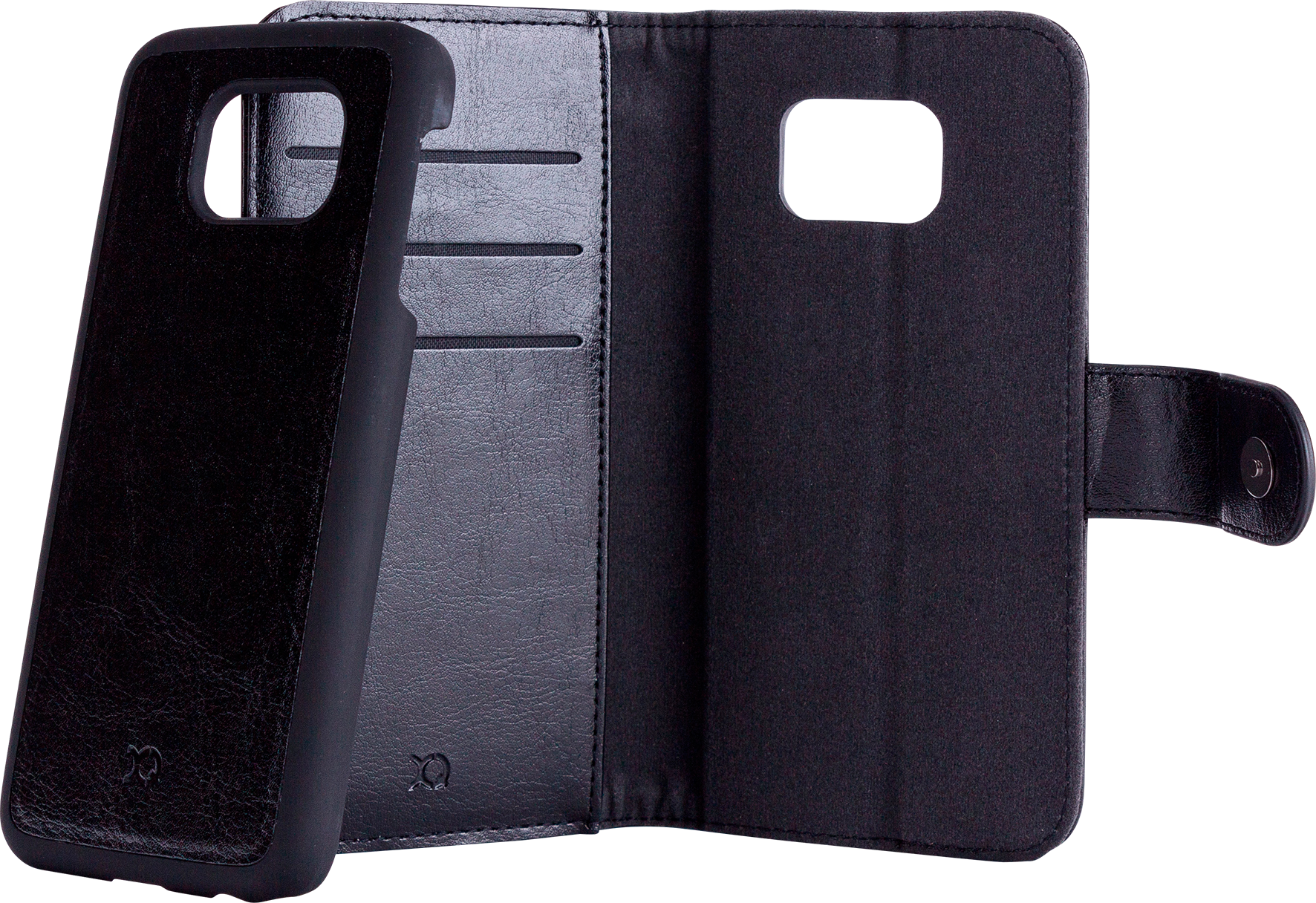 Läs mer om Xqisit WalletCase Eman Samsung Galaxy S6 Brown